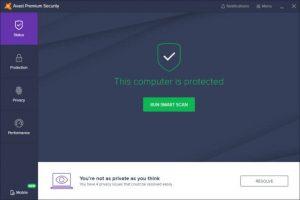 Avast Premium Security 20.9.2437