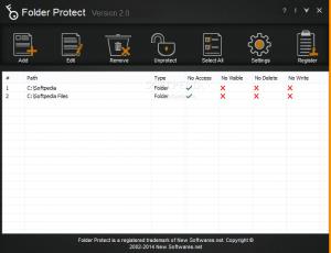 Folder Protect 2.0.7