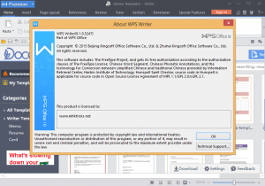 WPS Office 2020 V11.2.0.9629 Crack