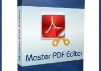 Master PDF Editor 5.6.49 Crack